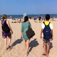 Photo taken at North Avenue Beach by Brian H. on 8/25/2012