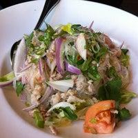 Photo taken at Osha Thai Noodle Cafe by Irene T. on 3/23/2012