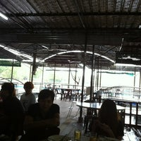 Photo taken at Floating Seafood Paradise by Botakz W. on 7/22/2012