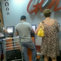 Photo taken at Check-in Gol by Bruno N. on 3/9/2012