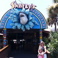 Photo taken at Sharky's Beachfront Restaurant by Donnie D. on 7/9/2012