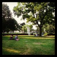 Photo taken at Dupont Circle by Sally R. on 6/19/2012