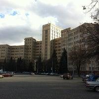 Photo taken at V. N. Karazin Kharkiv National University by Andriy Y. on 3/22/2012