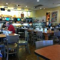 Photo taken at Einstein Bros Bagels by Beth D. on 6/30/2012