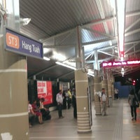Photo taken at RapidKL Hang Tuah (ST3) LRT Station by Alfie N. on 7/8/2012