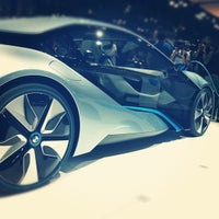 Photo taken at BMW at the NY International Auto Show by Ola O. on 4/14/2012