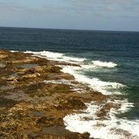 Photo taken at La Puntilla- Playa Melenara by Paloma B. on 3/4/2012