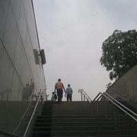 Photo taken at Rajiv Chowk | राजीव चौक Metro Station by Nitish K. on 4/18/2012