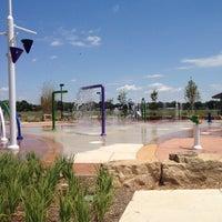 Photo taken at Splash Pad by Christina G. on 6/2/2012