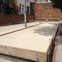 Photo taken at Little Italy Bocce Court by Megan E. on 8/20/2012