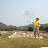 Photo taken at สุสานบัวทอง by Charn T. on 4/2/2012
