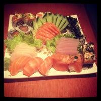 Photo taken at Zeni Sushi by Paula M. on 4/22/2012