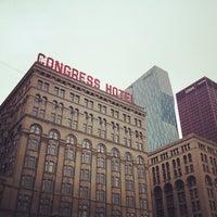 Photo taken at The Congress Plaza Hotel by Derek B. on 9/2/2012