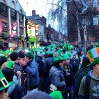 Photo taken at Temple Bar Square by Michael P. on 3/17/2012