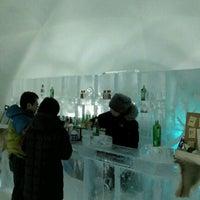Photo taken at Ice Bar by JIWOONG K. on 3/1/2012