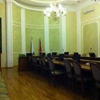 Photo taken at Администрация Выборгского района by Виталий П. on 2/25/2012