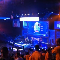 Photo taken at walmart shareholders 2012 50th by Ramona C. on 6/1/2012
