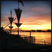 Photo taken at Bangkok Bistro Riverfront by Wuthikul T. on 3/4/2012
