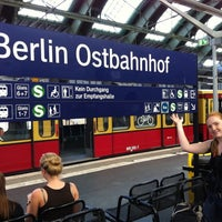 Photo taken at Berlin Ostbahnhof by Jag B. on 8/14/2012