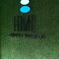 Photo taken at HML Salon Thonglor @The Grass Project by A S. on 8/7/2012
