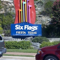 Photo taken at Six Flags Fiesta Texas by Ruth G. on 7/21/2012