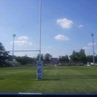 "Photo taken at Stadionul Național de Rugby ""Arcul de Triumf"" by alYin a. on 6/8/2012"