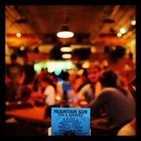 Photo taken at Mountain Sun Pub & Brewery by Ryan B. on 7/8/2012