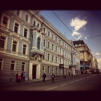 Photo taken at Bolshaya Dmitrovka Street by Eric on 5/1/2012