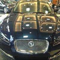 Photo taken at Imperial Motors Jaguar of Lake Bluff by Jay J. on 9/1/2012