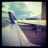 Photo taken at Gate C44 by Reid G. on 8/7/2012