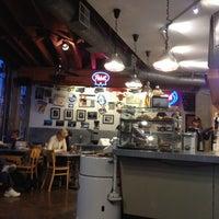 Photo taken at BrainWash Cafe & Laundromat by Nora N. on 3/19/2012
