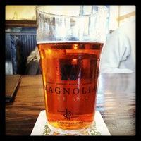 Photo taken at Magnolia Gastropub & Brewery by Owen H. on 5/9/2012