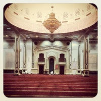 Photo taken at Ali Al Dhaheri Mosque by Ahmed A. on 4/16/2012