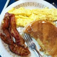 Photo taken at Olympic Flame Pancake House by Tasha B. on 4/12/2012