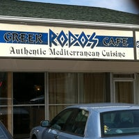 Photo taken at Rodos Greek Cafe by Cordova on 7/11/2012