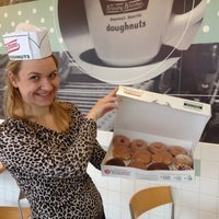 Photo taken at Krispy Kreme Doughnuts by Mera C. on 3/8/2012