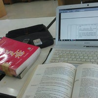 Photo taken at Perpustakaan STAN by Nur Fajri A. on 6/18/2012