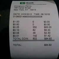 Photo taken at TD Bank by Matt F. on 2/23/2012