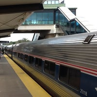 Photo taken at Albany-Rensselaer Station by Sean D. on 8/27/2012