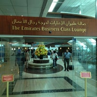 Photo taken at Emirates Business Class Lounge by Wong K. on 5/30/2012