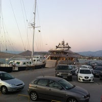 Photo taken at Port of Nafplio by Denis D. on 8/20/2012