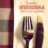 Photo taken at Weeruska by Hanna L. on 7/3/2012