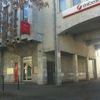 Photo taken at UniCredit Bank by Petykó B. on 3/21/2012