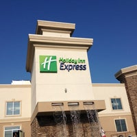 Photo taken at Holiday Inn Express Wisconsin Dells by Tina W. on 7/5/2012