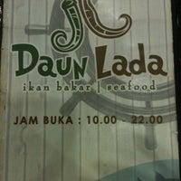 Photo taken at Daun Lada by Miya Ika S. on 7/22/2012