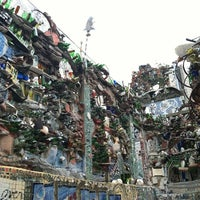 Photo taken at Philadelphia's Magic Gardens by Ellen on 7/29/2012