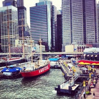 Photo taken at South Street Seaport by Alexandre J. on 7/27/2012