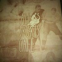 """4/5/2012 tarihinde """"Silver""""ziyaretçi tarafından All Sports Cafe'de çekilen fotoğraf"""