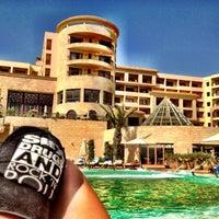 Photo taken at Mövenpick Resort & Marine Spa Sousse by Maria O. on 8/11/2012