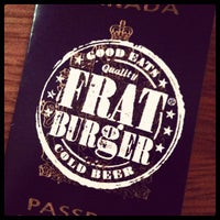 Photo taken at Frat Burger by glenn on 4/1/2012